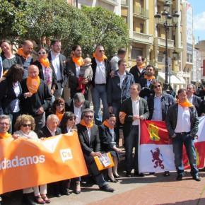 Inicio de Campaña electoral, plaza de España