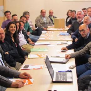 Reunión de Candidatos Coordinación Campaña Municipal Ciudadanos Burgos