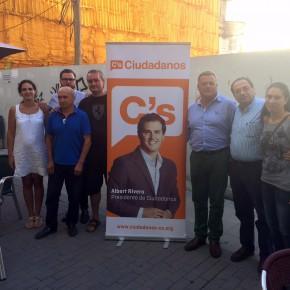 GRUPO PROVINCIAL  de Ciudadanos. Los Diputados de C's se desplazan a La Bureba