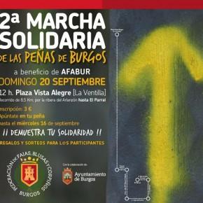 II MARCHA SOLIDARIA FEDERACIÓN DE PEÑAS DE BURGOS (a beneficio de AFABUR).