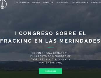 web Congreso fracking