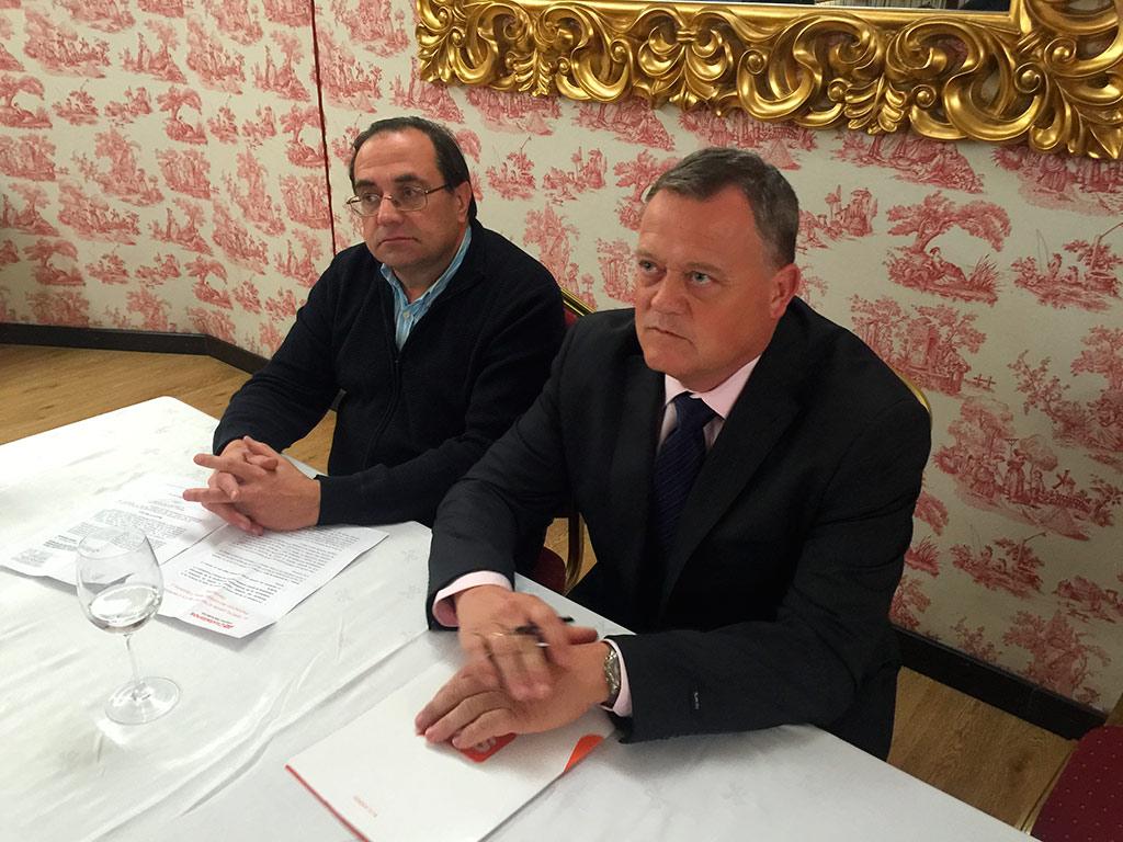 Lorenzo Rodríguez Pérez y José María Fernández García