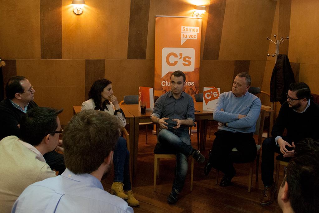 20160418 nota de prensa Café Ciudadanos Pablo Yáñez