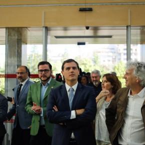 """Rivera: """"Lo que más me preocupa es si Rajoy estaba al corriente de las tramas de Fernández Díaz contra partidos de la oposición"""""""