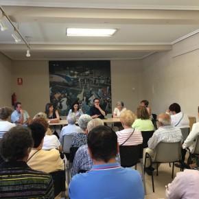 Rodrigo Ibeas (C's) finaliza la campaña tratando los problemas de los vecinos de su propio barrio