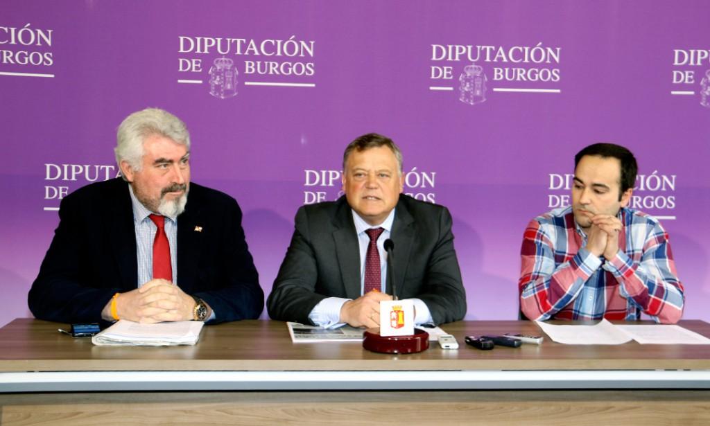 José Ignacio Delgado, Lorenzo Rodríguez y Javier Fernández-Gil
