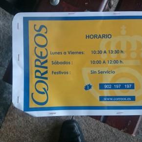 Cs pide explicaciones por la reducción de horarios en la oficina de Correos en Espinosa de los Monteros