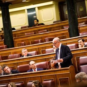 Cs pregunta en el Congreso por la reducción de horario en la Oficina de Correos en Espinosa de los Monteros