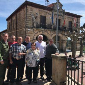 José Ignacio Delgado se reúne con los concejales de Cs en Quintanar para tratar temas relativos a la despoblación