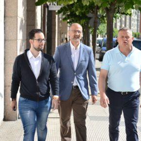 Luis Fuentes apuesta por Miranda y Pancorbo como núcleos logísticos para crear empleo