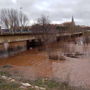 Calvo pedirá al Pleno de Lerma que tome la iniciativa para reunir a todos los municipios del cauce del Arlanza y proceder a la limpieza del río
