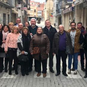 Cargos y afiliados de Ciudadanos se reúnen en Briviesca para afrontar una jornada de trabajo conjunta