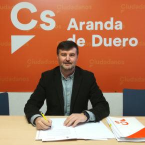 Martín Hontoria ve con preocupación la falta de tramitación del expediente de presupuestos de Aranda