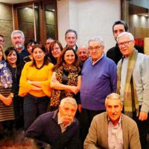 Cargos y afiliados de Ciudadanos se reúnen en Aranda de Duero para afrontar una jornada de trabajo conjunta.