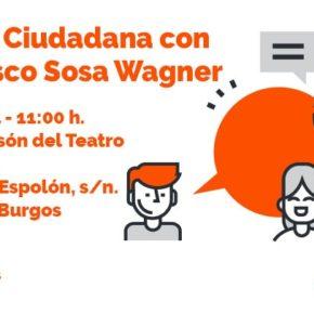 Sosa Wagner ofrecerá el sábado una conferencia en la Sala Polisón sobre Política Nacional
