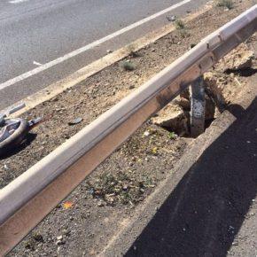 La Diputación mejorará los elementos de seguridad para los motoristas en sus carreteras