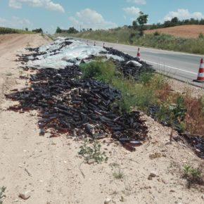 Ciudadanos exige mayor mantenimiento en la N-122