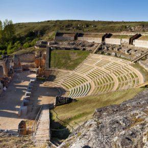 Ciudadanos pide a la Diputación que estudie los costes y posibilidades de duplicar el aforo del Teatro Romano de Clunia