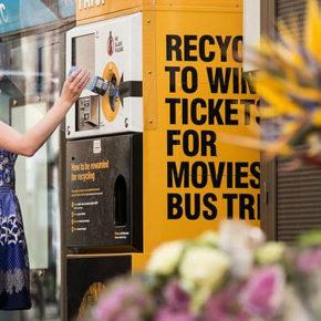 Ciudadanos propone instalar puntos de reciclaje en las paradas de autobús
