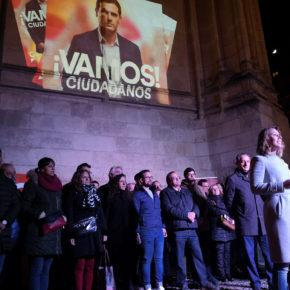 """Nacarino pide el voto para Ciudadanos para que la """"voz de Burgos se escuche"""" en el Parlamento"""