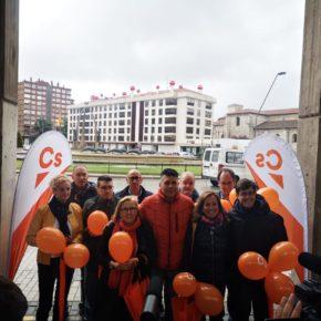 """Vicente Marañón: """"Ciudadanos tiene el mejor equipo para convertir Burgos en una ciudad abierta y atractiva"""""""