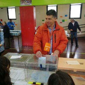 Marañón anima a votar para que la ilusión y el futuro gobiernen Burgos