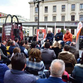 """Francisco Igea (Cs): """"Castilla y León puede liderar el cambio, puede liderar Europa, puede liderar este país"""""""