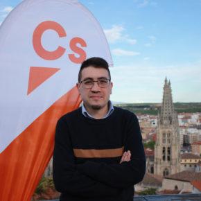 Miguel Balbás tomará posesión el sábado como concejal de Cs en el Ayuntamiento de Burgos