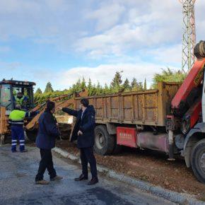 Arrancan las obras de mejora de la urbanización de las calles Padre Arregui y Alcalde Fernando Dancausa