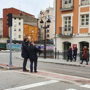 """Rodríguez-Vigil (Cs) avanza nuevas obras que """"mejorarán el día a día de los burgaleses y garantizarán su seguridad"""""""
